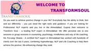 NLP expert in Ahmedabad, Licensed Practitioner of NLP-Transform Soul