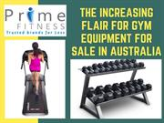 The Increasing Flair for Gym Equipment for sale in Australia