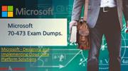 Latest Microsoft 70-473 Exam Question - 100% Passing Assurance