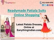 Readymade Patiala Suit Online Shopping