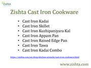 Zishta Cast Iron Cookware Specialities