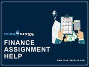Finance assignment help | Finance homework help
