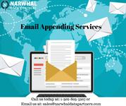 Email Appending Services | Narwhal Data Partners IN USA