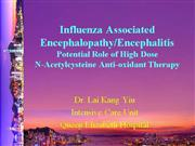 Influenza-associated encephalopathy H1N1