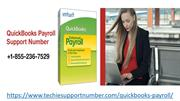 Phone Number for QuickBooks Payroll +1-855-236-7529