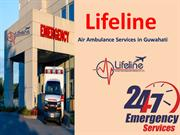 Avail an Emergency Rescue Air Ambulance in Guwahati Anytime
