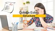 Facts about College Essay Structure