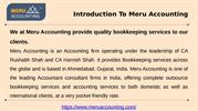 outsourced accounting services india  - Meru Accounting