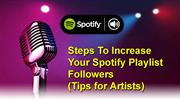 8 Steps To Increase Your Spotify Playlist Followers(Tips for Artists)