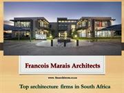 Find the Top architecture firms in south africa