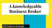 Jeff Chapman Eisnaugle:  A knowledgeable Business Broker