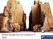 Perfect Package Tours for a Vacation in Egypt