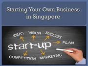 Starting Your Own Business in Singapore