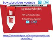 How to buy the real subscribers on youtube
