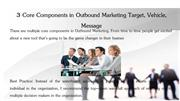 3 Core Components in Outbound Marketing Target Vehicle Message