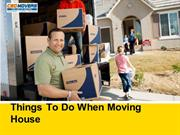 Things To Do When Moving House by CBD MOVERS UK