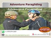 Get Best Experience of Paragliding in Glenwood Spring, Colorado