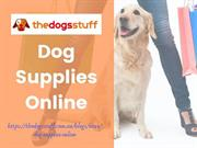 Dog Supplies Online
