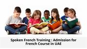 Spoken French Training _ Admission for French Course in UAE
