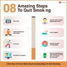10 Amazing Steps to Quit Smoking: Take a First Step Towards