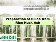 Preparation of Silica from Rice Husk Ash