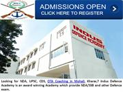 Best NDA, UPSC, CDS, OTA Coaching in Kharar, Mohali