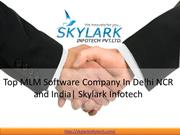 Top MLM Software Company In Delhi NCR and India| Skylark Infotech