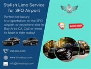 Stylish Limo Service for SFO Airport