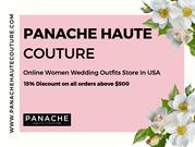 Trendy and Stylish Indo Western Gown Online At Panache Haute Couture