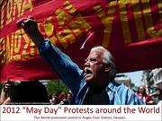 2012 May Day Protests around the World
