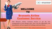 Brussels Airline Customer Service