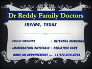Dr Reddy-Family-Doctors-Irving, Texas