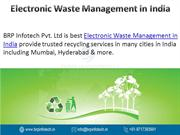 Best Electronic Waste Management in India