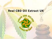 Real CBD Oil Extract UK