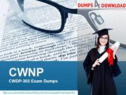 CWDP-303 Exam Dumps - CWDP-303 Exam Questions| Dumps4Download.us