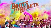 Cheap Boots and Hearts Music Festival Tickets
