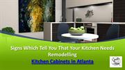 Signs Which Tell You That Your Kitchen Needs Remodelling