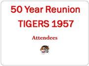 50 Year Attendees