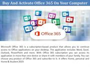 Buy And Activate Office 365 On Your Computer