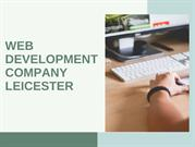 Web Development Company Leicester