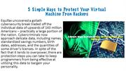 5 Simple Ways to Protect Your Virtual Machine