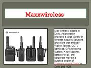 Motorola walkie talkie dealers in Delhi