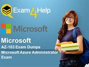 Microsoft AZ-103 Free Exam Demo Questions - Exam4help.com