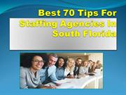 Best 70 Tips For Staffing Agencies In South