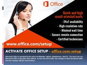 Go to the default browser to visit Microsoft Office official site