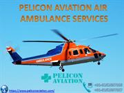 Book Low-Price Air Ambulance Service from Chennai to Delhi by Pelicon