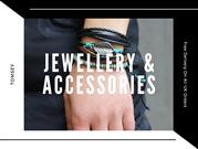 Shop Best Luxury Mens Jewellery in the UK - Tomsey