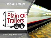 Best Enclosed Cargo Trailers for Sale