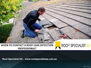 When To Contact A Roof Leak Detection Professional