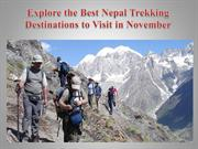 Explore the Best Nepal Trekking Destinations to Visit in November